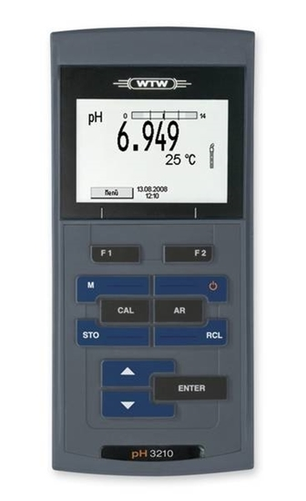 Picture of WTW pH 3310 instrument