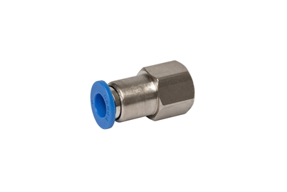 "Picture of Push-in fitting for 6 mm tube (1/8"")"