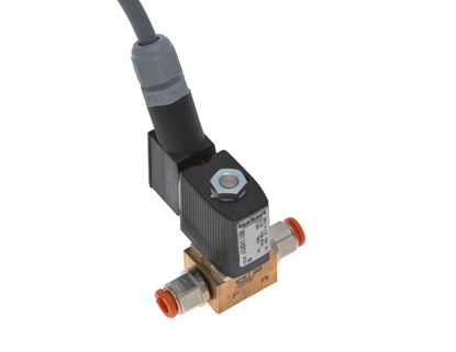 Picture of Solenoid valve w/push-in fittings